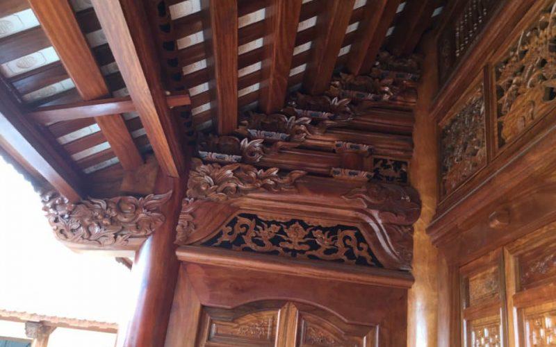 Làng nghề làm nhà gỗ nổi tiếng tại nghệ an
