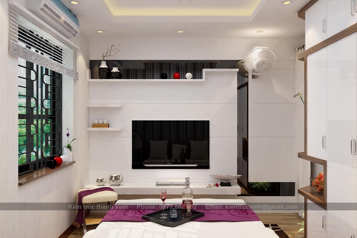 nội thất phòng ngủ chung cư có diện tích nhỏ