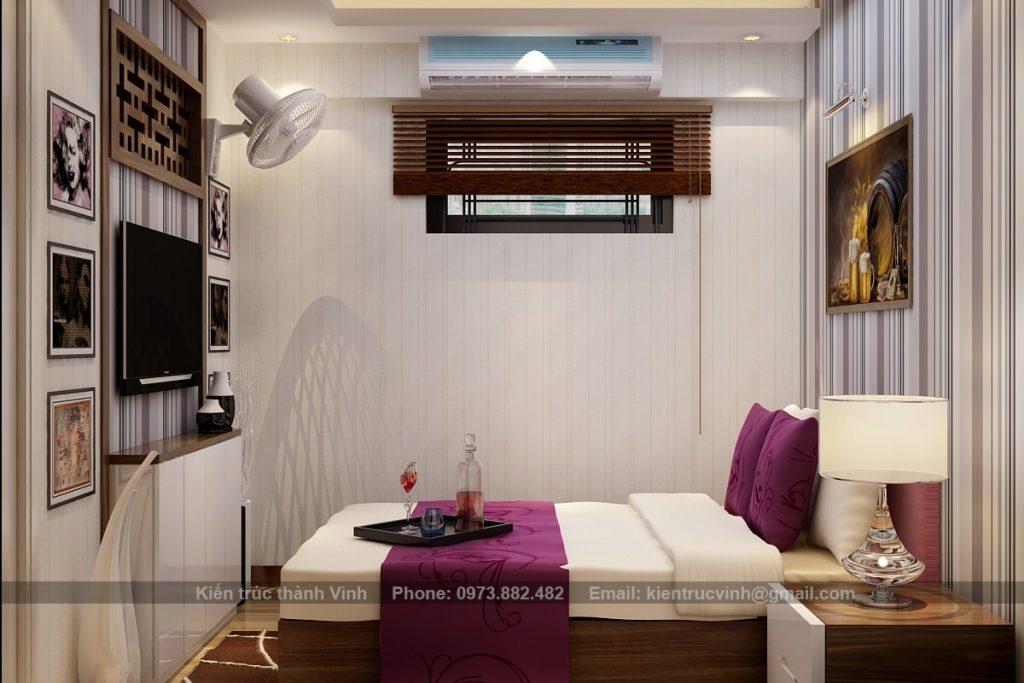 nội thất phòng ngủ có diện tích nhỏ