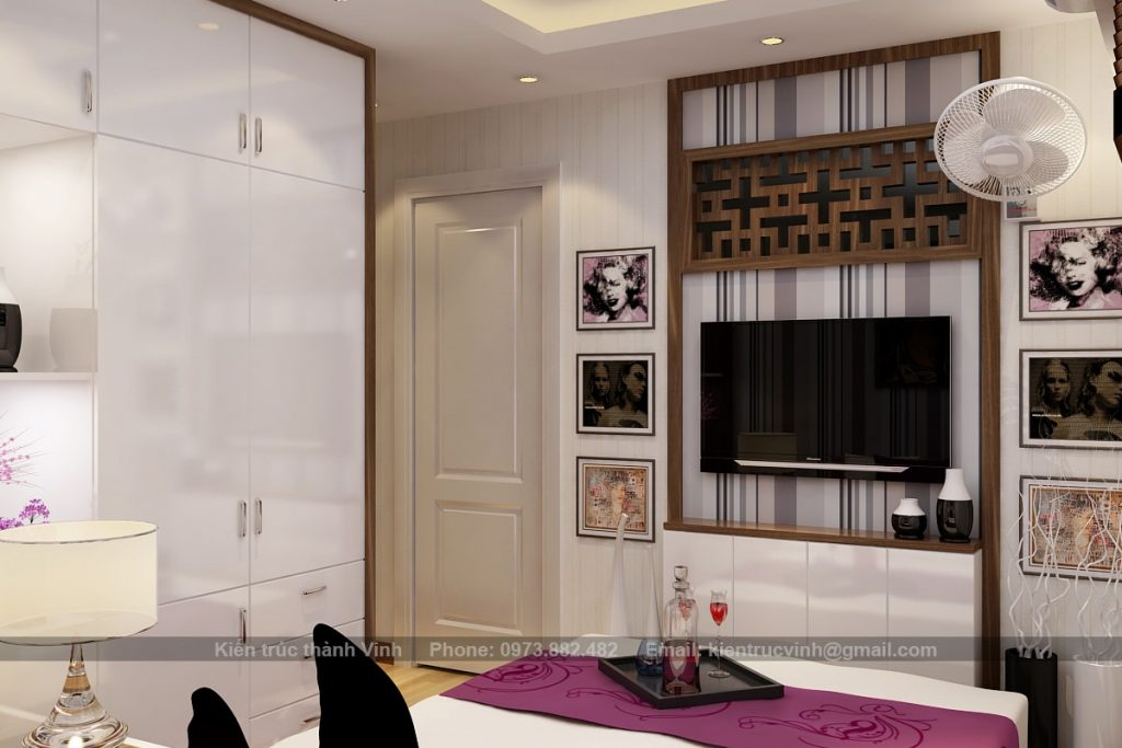 Nội thất phòng ngủ có diện tích nhỏ 3