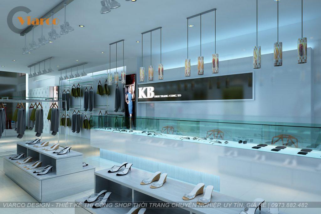 Thiết kế thi công shop thời trang tại thành phố Vinh - Nghệ An2