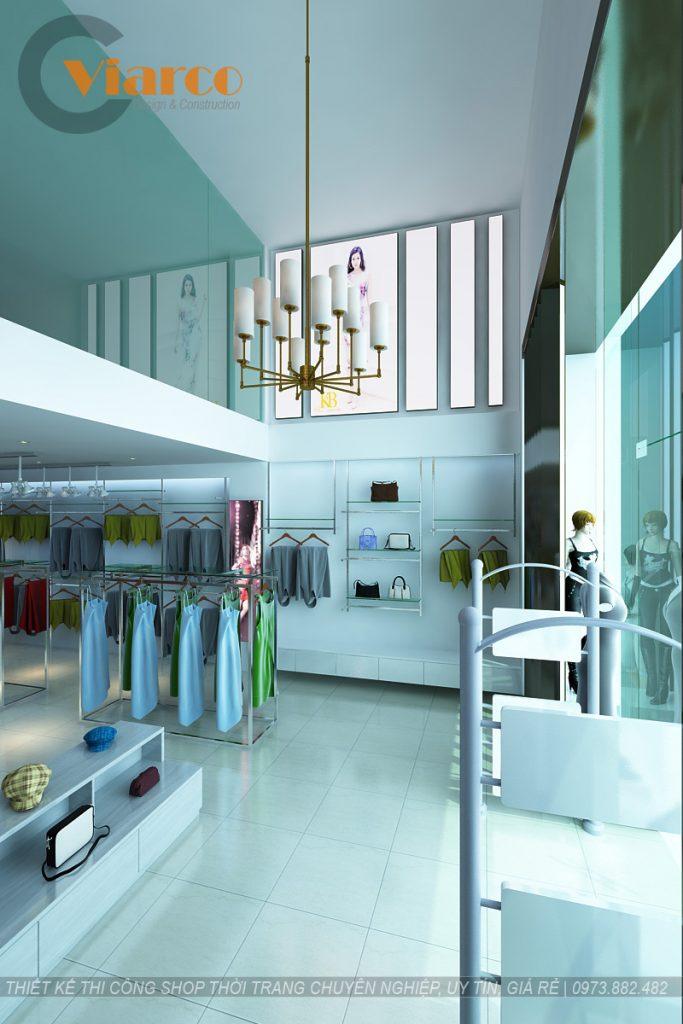 Thiết kế thi công shop thời trang tại thành phố Vinh - Nghệ An10