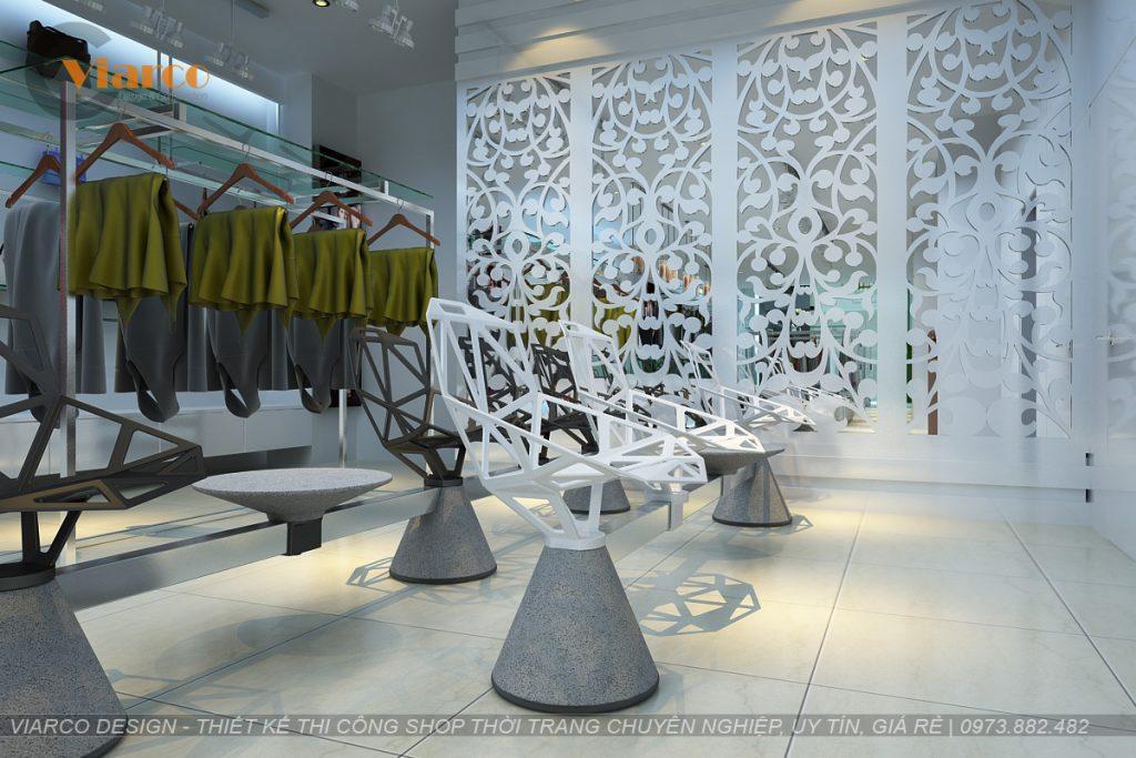 Thiết kế thi công shop thời trang tại thành phố Vinh - Nghệ An11