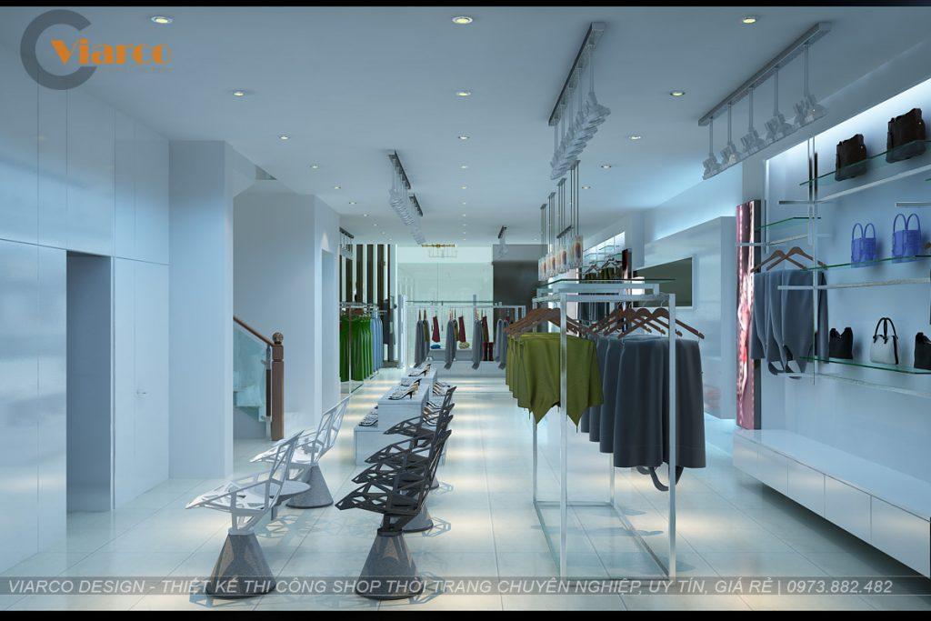 Thiết kế thi công shop thời trang tại thành phố Vinh - Nghệ An4