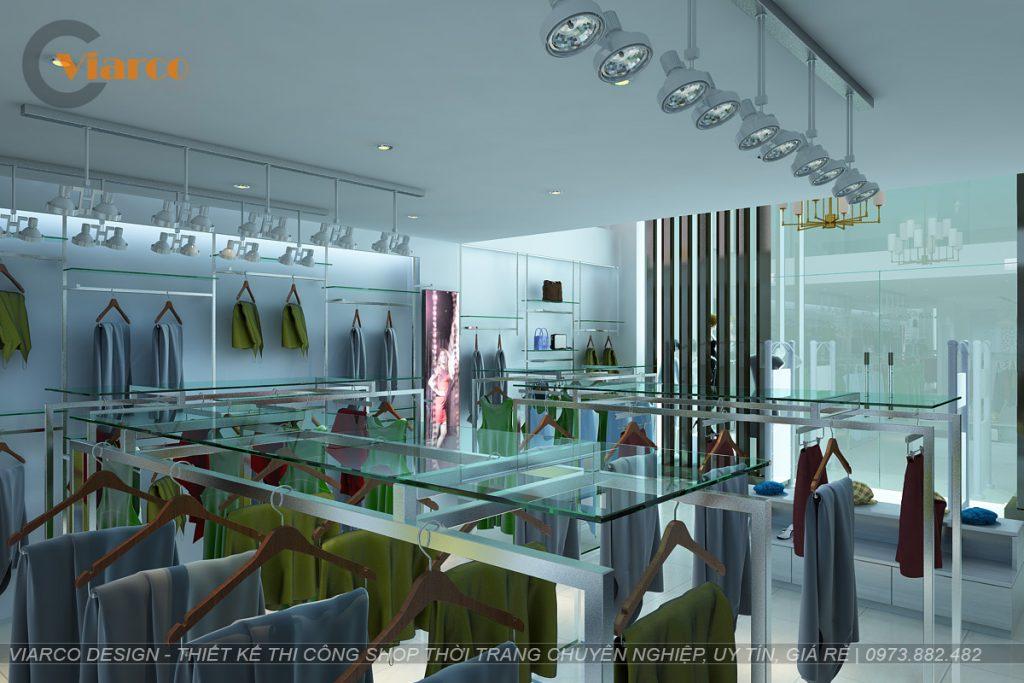 Thiết kế thi công shop thời trang tại thành phố Vinh - Nghệ An5