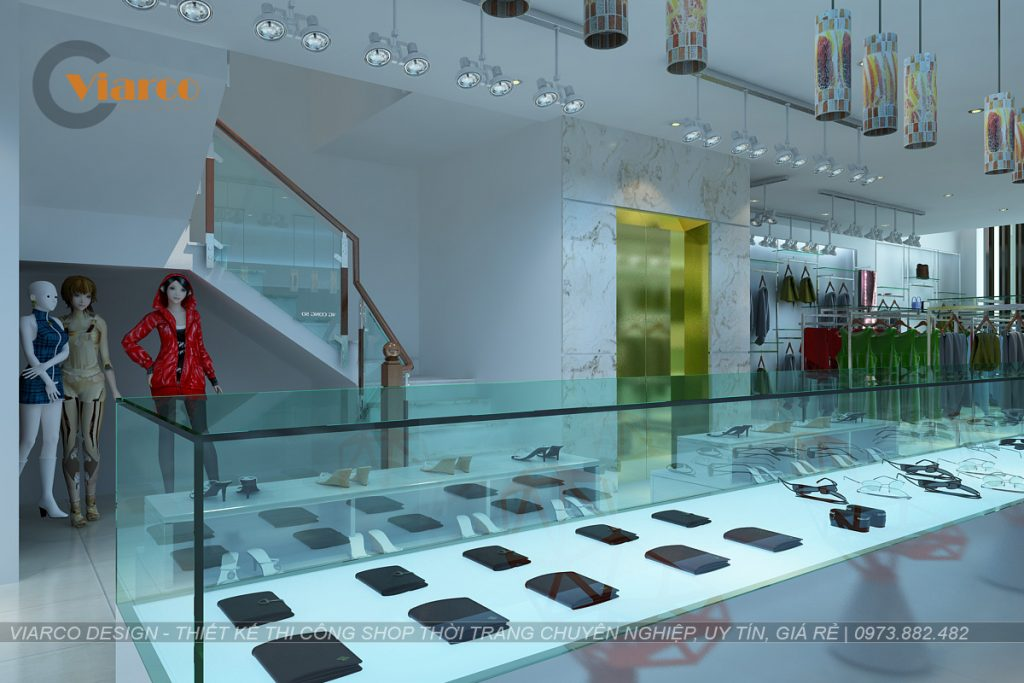 Thiết kế thi công shop thời trang tại thành phố Vinh - Nghệ An6