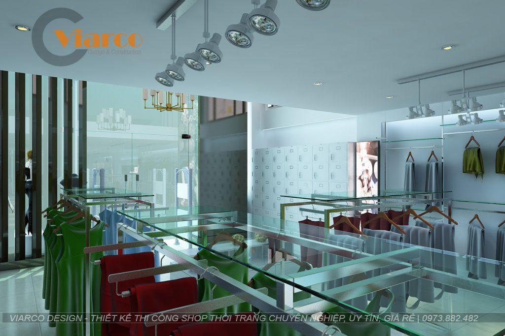 Thiết kế thi công shop thời trang tại thành phố Vinh - Nghệ An8