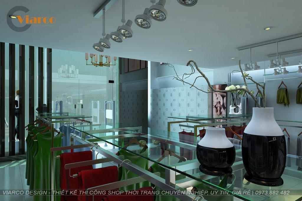 Thiết kế thi công shop thời trang tại thành phố Vinh - Nghệ An12