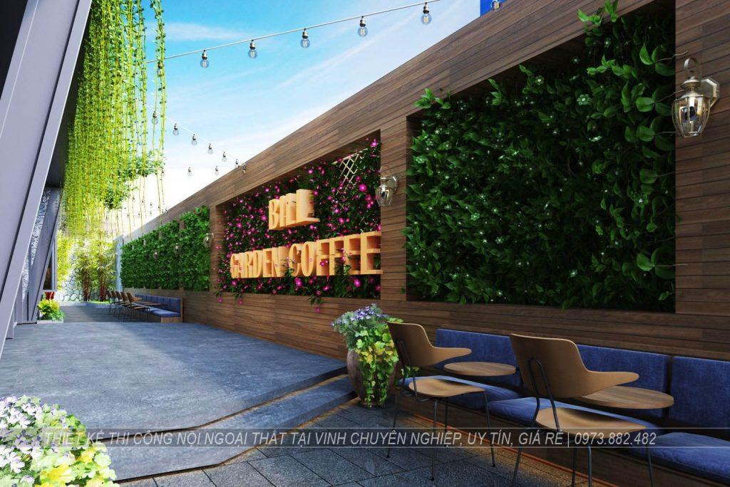 Thiết kế thi công nội thất quán cà phê tại thành phố Vinh Nghệ An4