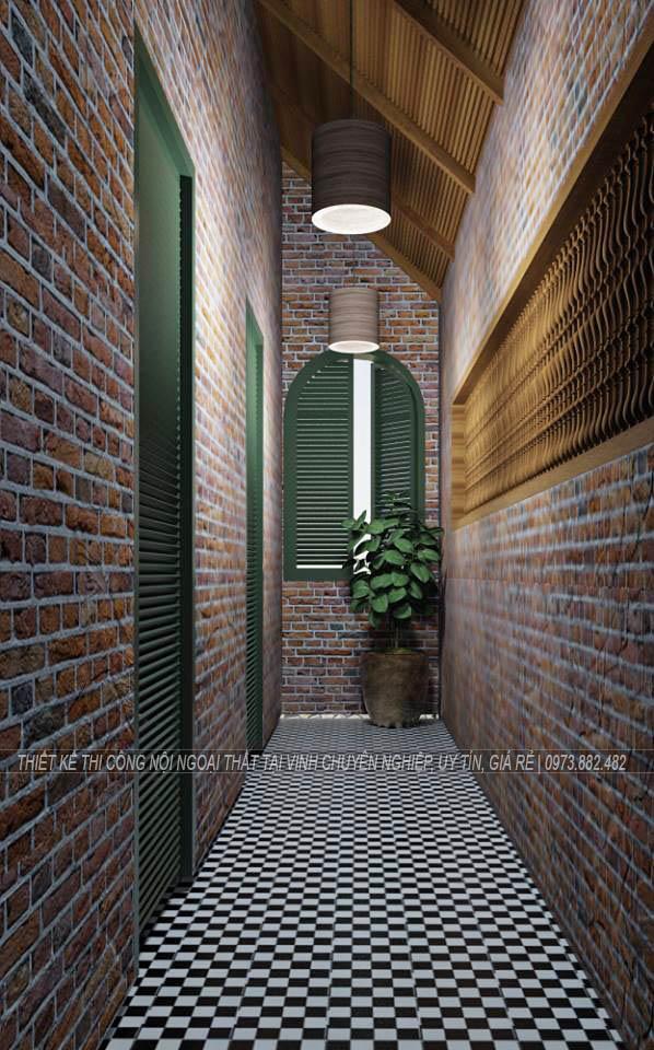 Thiết kế thi công nội thất quán cà phê tại thành phố Vinh Nghệ An8