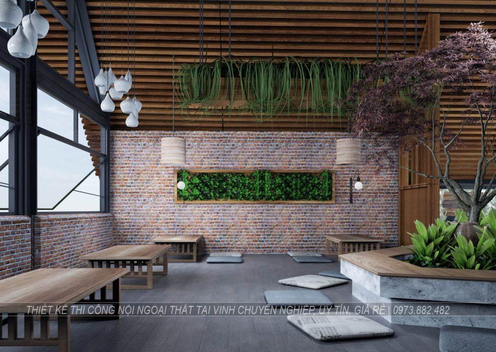 Thiết kế thi công nội thất quán cà phê tại thành phố Vinh Nghệ An6