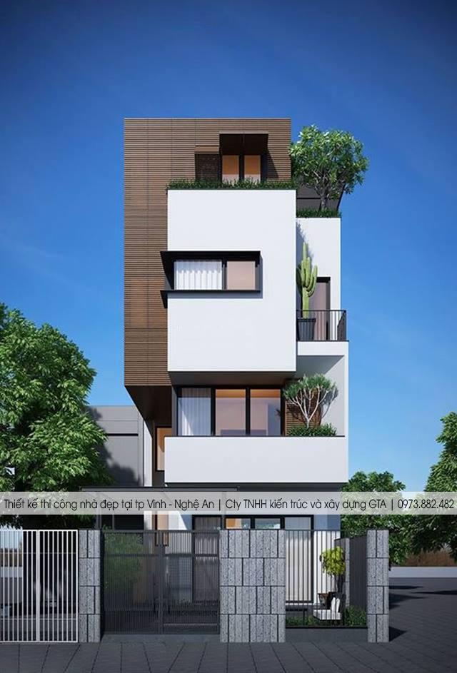 Thiết kế nhà ở đẹp tại thành phố Vinh nghệ an 6