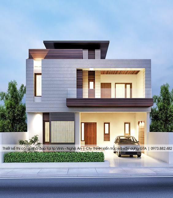 Thiết kế nhà đẹp tại thành phố vinh nghệ an 3
