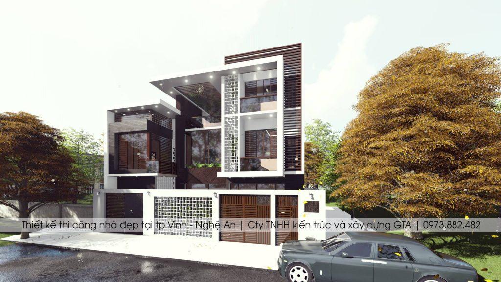 Thiết kế nhà đẹp tại thành phố vinh nghệ an 2