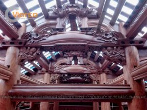 Xây dựng nhà gỗ truyền thống tại tp.Vinh