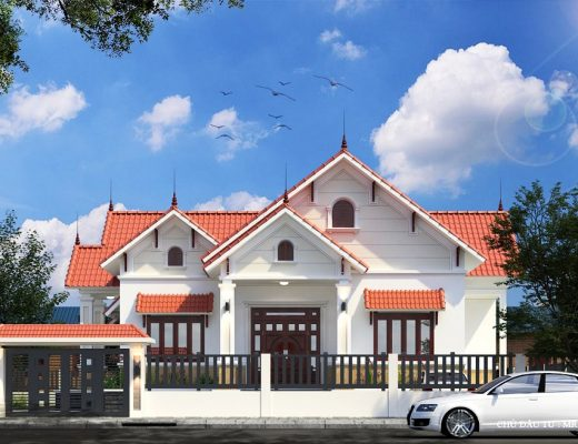 Thiết kế thi công nhà cấp 4 đẹp tại TP vinh Nghệ An
